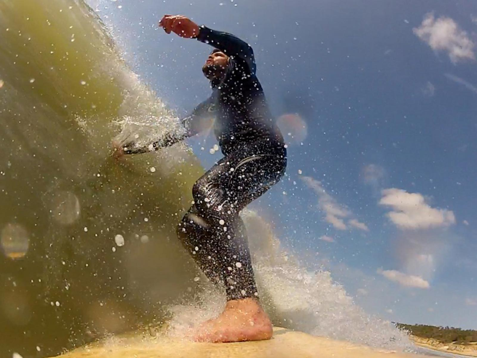 Balsa-Surfing