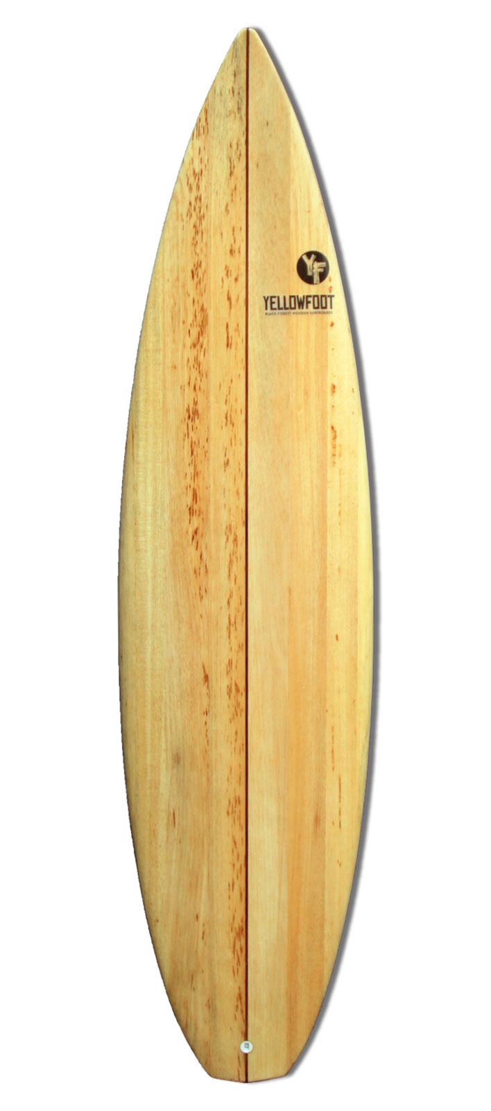 Shortboard-Holz-Balsa