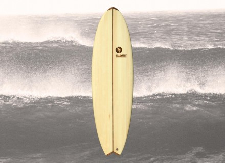 Balsa-Holz-Fish-Surfboard-5'11