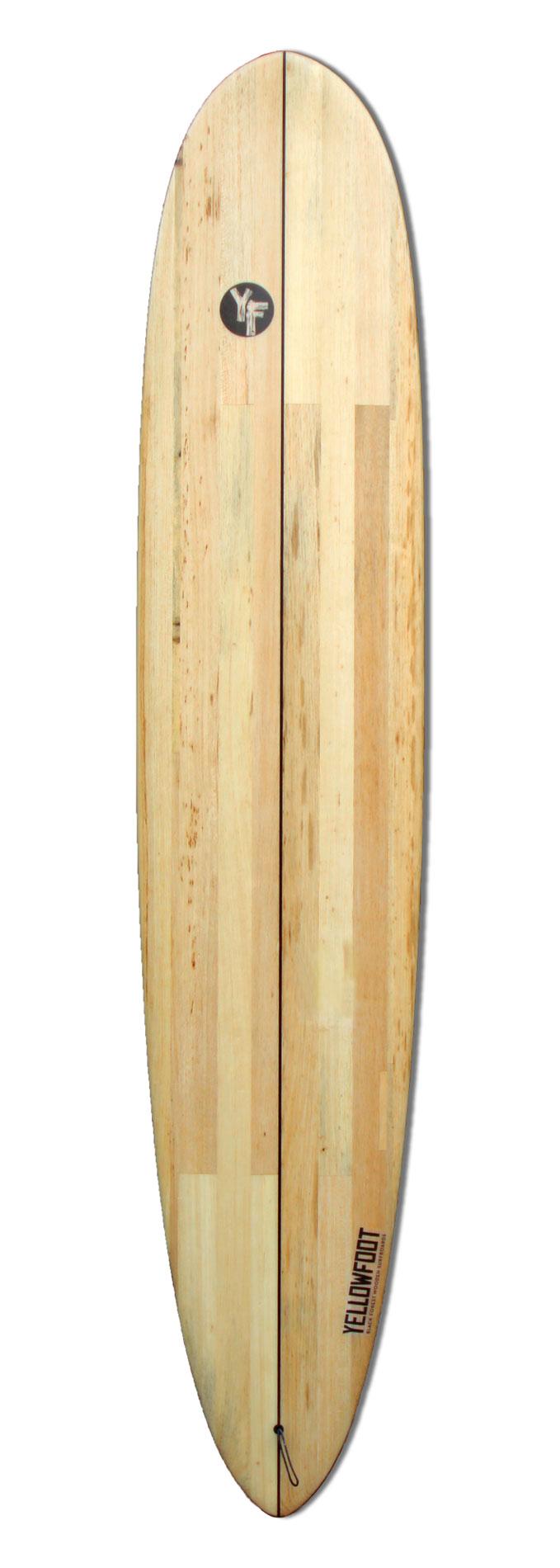 wooden-Longboard-Surfboard
